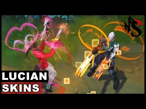 All Lucian Skins Spotlight (League of Legends)