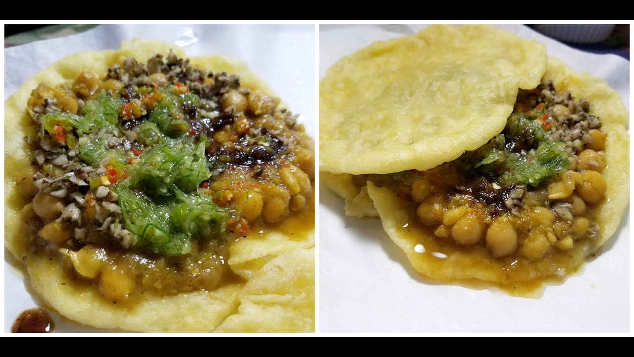 The Ultimate Trinidad And Tobago Doubles Recipe Street Food Taste Of Trini Youtube