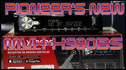Pioneer's MVH-X580BS non CD Player radio unboxing