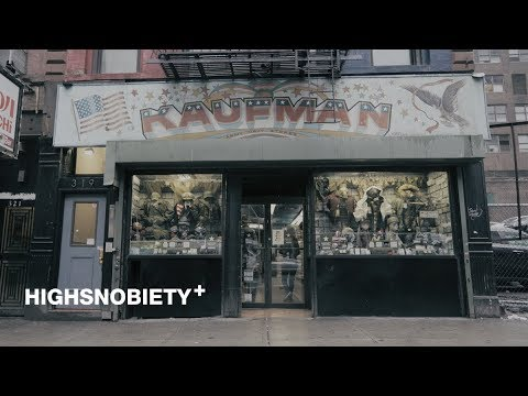 Exploring New York's Oldest Military Surplus Store With Alpha Industries