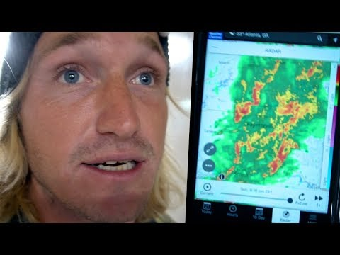 BAD WEATHER SCARY TRAVEL EXPERIENCE