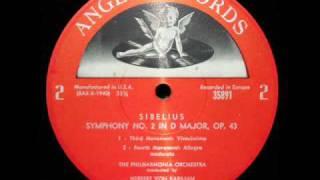 sibelius von karajan 1961 symphony no 2 in d major op 43 movement 4 part 2