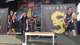 Secrets - Rise Up Live (Warped Tour 2016)