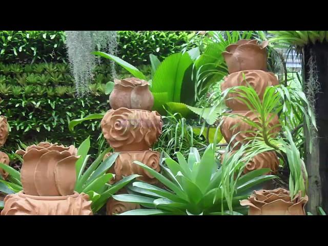 Слайд шоу парка Нонг Нуч в Таиланде