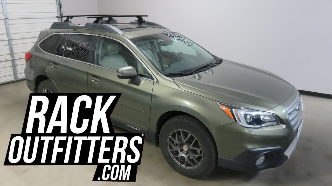 Subaru Outback Roof Rack Tool >> Subaru Outback Wagon With Yakima Skyline Jetstream Roof Rack