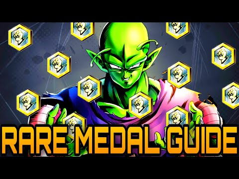 HOW AND BEST WAY TO GET RARE MEDALS IN DRAGON BALL LEGENDS!   Dragon Ball Legends