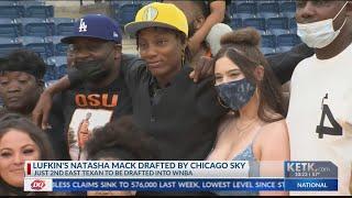 East Texan Natasha Mack Taken 16th By Chicago Sky In WNBA Draft