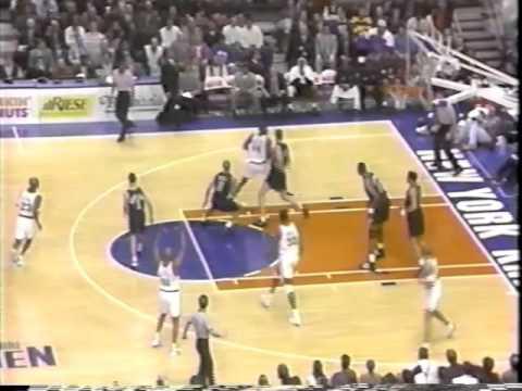 Mahmoud Abdul-Rauf- Nuggets vs. Knicks, '95-'96 Season (Highlights + Interview)