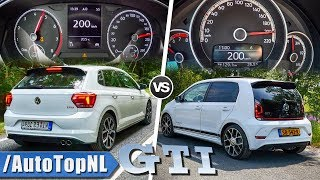 VW UP GTI vs POLO GTI | ACCELERATION POV & SOUND by AutoTopNL