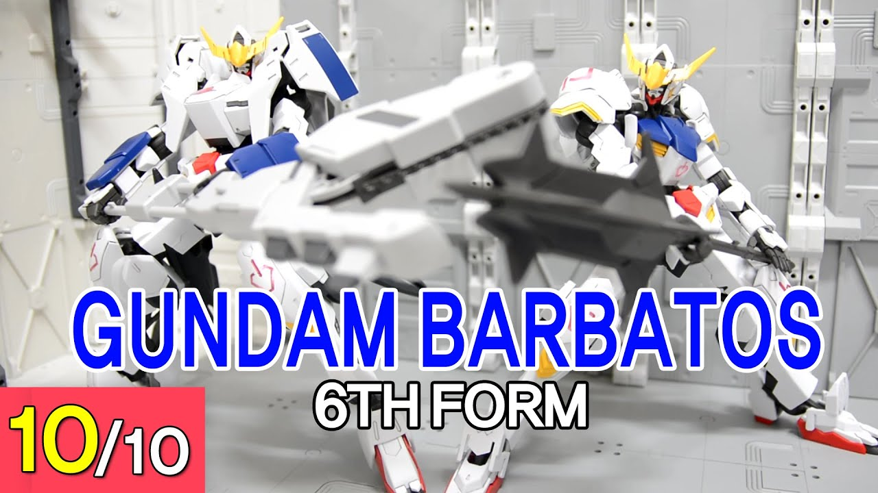 REVIEW] 1/100 - Gundam Barbatos 6th Form - YouTube