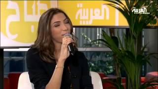 المطربة المغربية دنيا بطمة في صباح العربية
