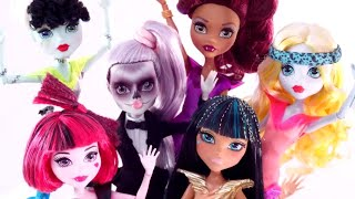 Gaga for Ghouls 💜Official Music Video 💜Monster High Songs