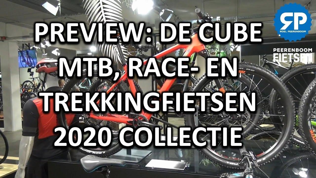 PREVIEW: DE CUBE MTB, RACE-  EN TREKKINGFIETSEN 2020 COLLECTIE