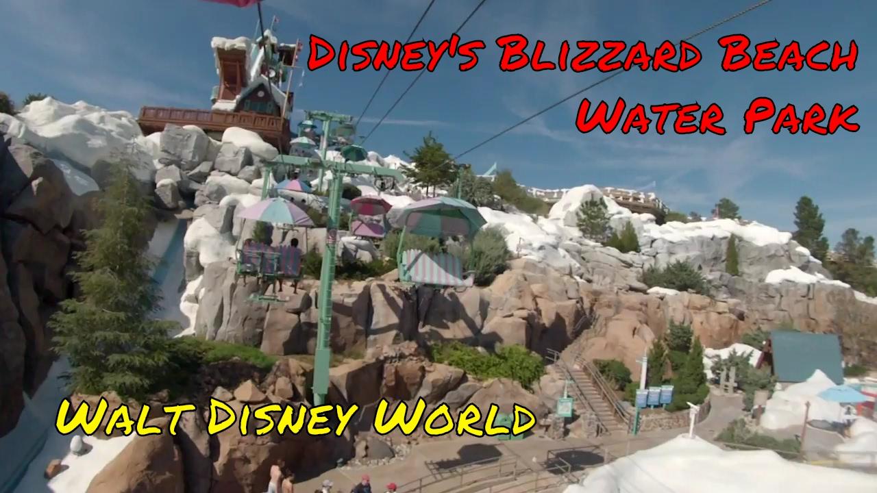Disney S Blizzard Beach Water Park At Walt Disney World Youtube