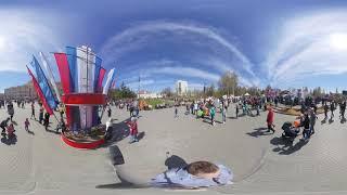 Смотреть видео День Победы 2019, Томск, Россия онлайн
