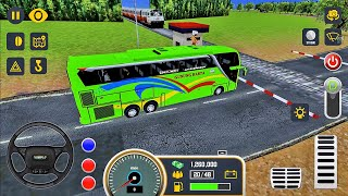 Mobile Bus Simulator - Route from Yogyakarta to Bandung - Android Gameplay
