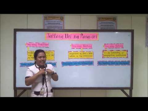 Mga Uri ng Pang-uri ( Lecture Capture )