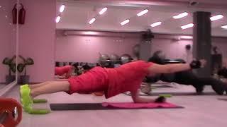 Упражнения для осанки из курса SuperFitness Company/Обучение фитнес инструкторов, Москва