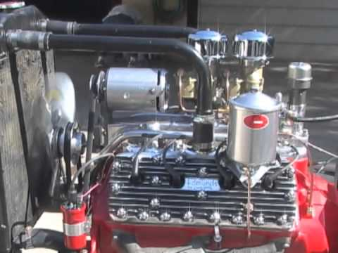 59ab Flathead Ford Engine Running Youtube