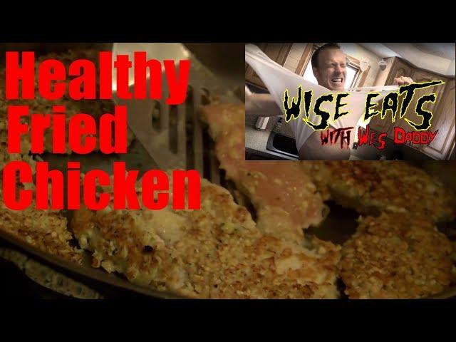 Wise Eats - Healthy Fried Chicken & Slammin' Sweet Potato –Best Sweet Potato You'll Ever Have!