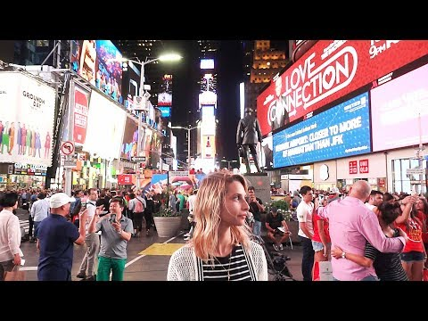 8 MUST SEE SIGHTS IN NEW YORK CITY - Travel Vlog