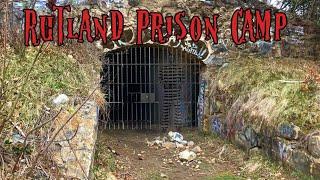 ABANDONED Rutland Prison Cąmp in Rutland , Massachusetts ( FOUND HUMAN REMAINS )