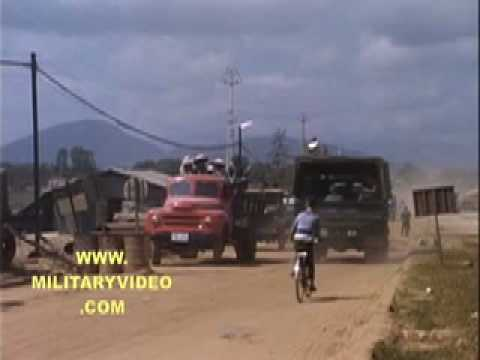 Naval Support Activities Da Nang Vietnam War Video