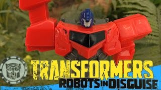 New 2015 TRANSFORMERS ROBOTS IN DISGUISE: OPTIMUS PRIME_HAPPY MEAL_McDONALD'S Kids Toy