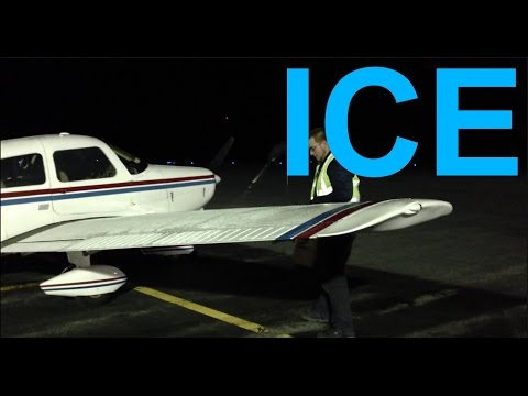 Icing For General Aviation Pilots - How To De-ice An Airplane
