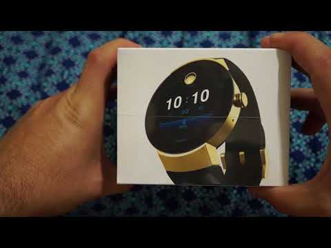 2017 Movado Connect Smart Watch First Hands On Unboxing Android Wear 2.0