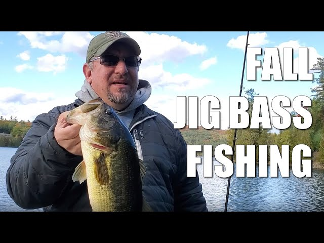 Fall Bass Fishing - Jigs in the Adirondack Mountains