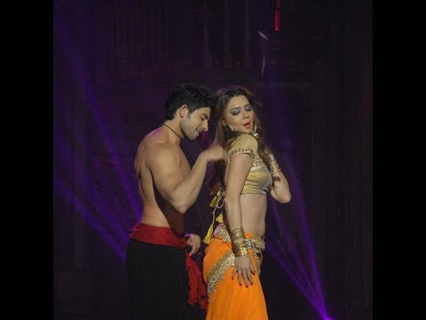 Hussain and Oksana Sizzling Dance Performance
