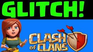 Clash of Clans Glitch! REAL Clash Glitch Ground X Bows Shooting Air units????