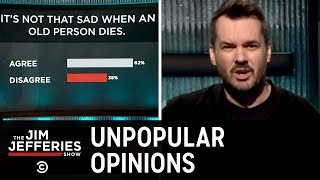 Jim Jefferies Takes on Fat Shaming and Unpopular Opinions - The Jim Jefferies Show