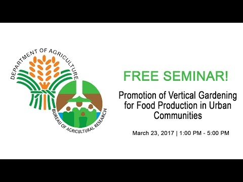 Promotion of Vertical Gardening for Food Production in Urban Communities