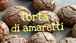 Torta Di Amaretti Fatta In Casa Da Benedetta - Homemade Amaretti Cake