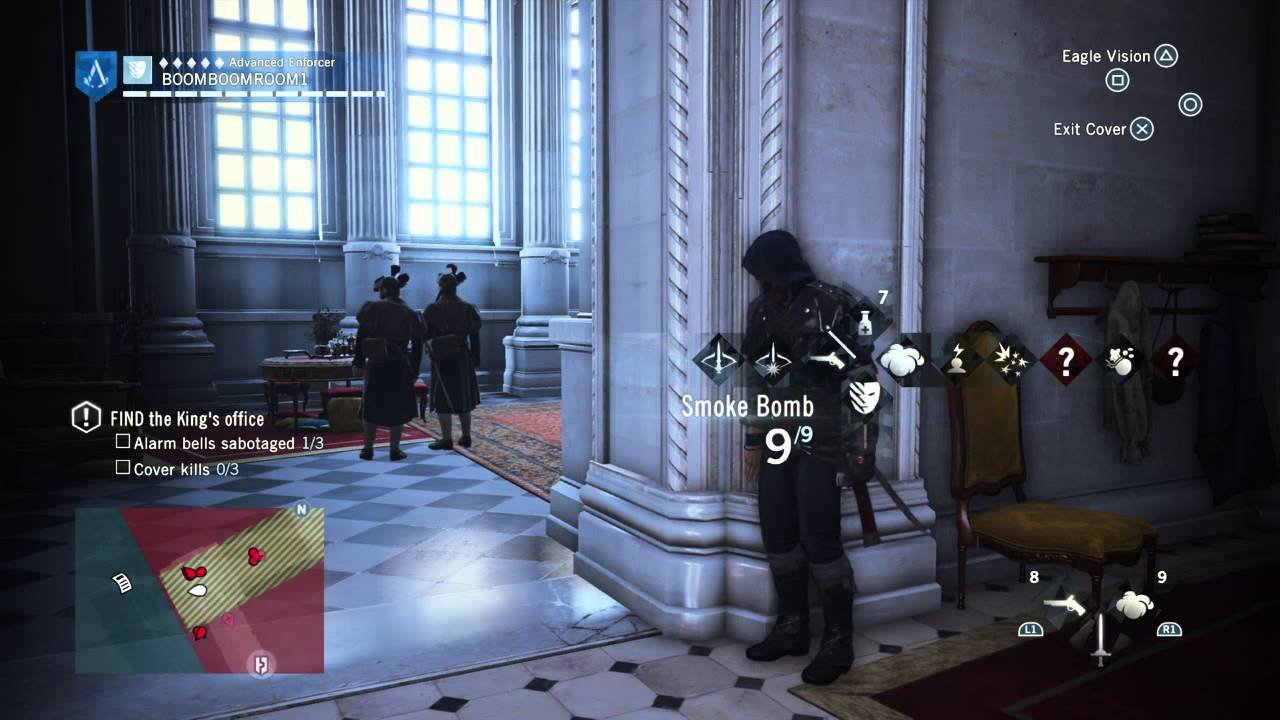 Infiltrate The Palace Assassin S Creed Unity Youtube