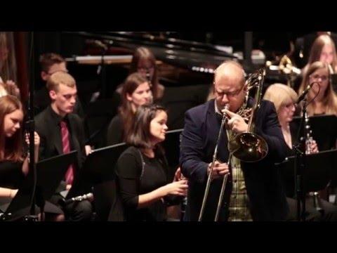 Bert Appermont | Colors for Trombone | Schwäbisches Jugendblasorchester, Solist: Timo Kächele