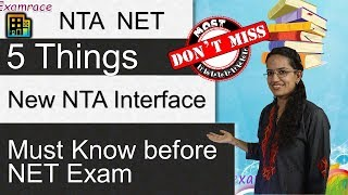 ⌨ 5 Things about New NTA Interface - Must Know before NET Exam