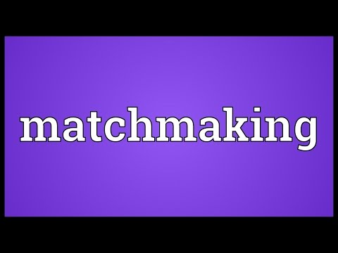 matchmaking process definition