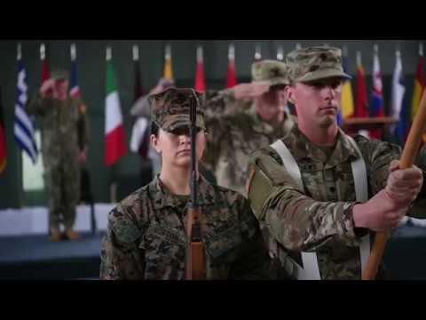 DFN:NATO Headquarters Sarajevo Transfer of Authority Ceremony BOSNIA AND HERZEGOVINA 07.09.2018