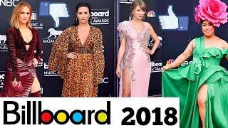 Alfombra Roja Billboard 2018 Los mejores y peores Vestidos
