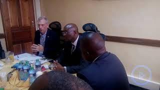 US Ambassador Robert Godec on Raila and Uhuru Kenyatta handshake