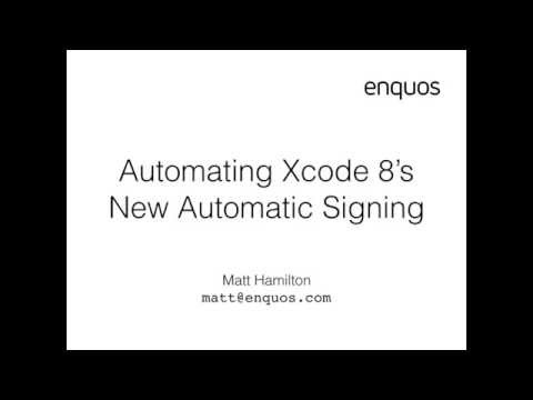 How To Code Sign An Ios