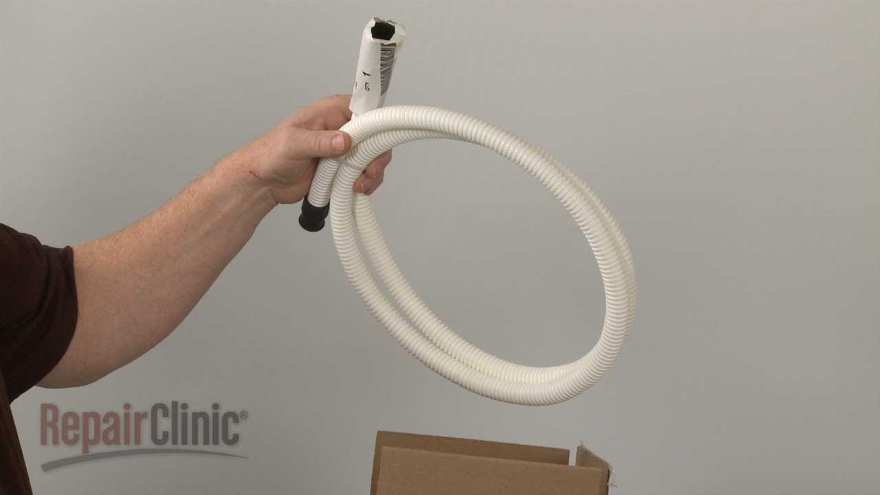 ge dishwasher drain hose replacement wdx ge dishwasher drain hose replacement wd24x10014