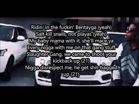 "BlocBoy JB  "" Rover 2.0""  ft. 21 Savage  (Lyric Video)"
