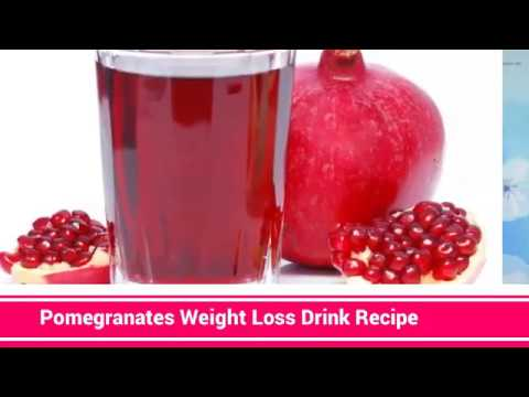 Best Way To Lose Belly Fat Weight Loss Drink With Pomegranate