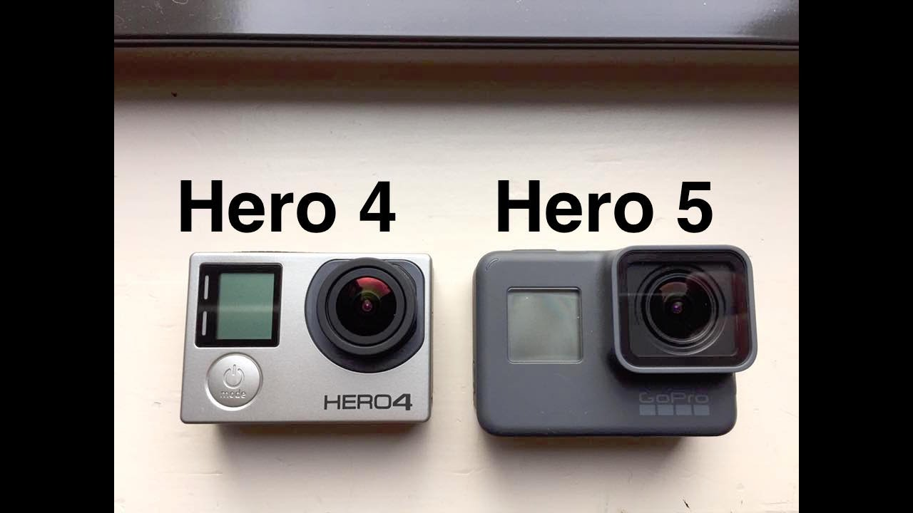 Gopro Hero 5 Vs Hero 4 >> Gopro Hero 5 Black Vs Hero 4 Black 4k Sharpness Comparison Youtube