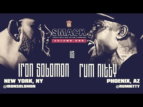 IRON SOLOMON VS RUM NITTY SMACK/ URL RAP BATTLE