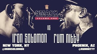 IRON SOLOMON VS RUM NITTY SMACK/ URL RAP BATTLE | URLTV